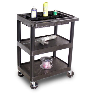 Luxor Black Utility Cart
