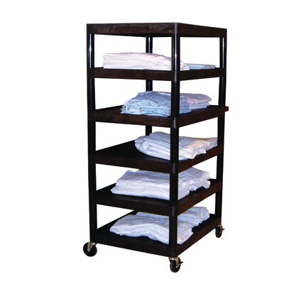 "Luxor 60"" 6 Shelf Utility Cart"