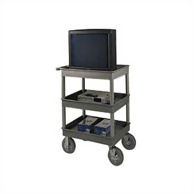 Luxor Four Tub Shelf Utility Cart