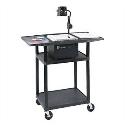 Luxor Stand-Up Overhead Projector Table (Set of 4)