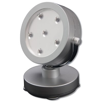 Grey 6 LED Spot Light LPL720