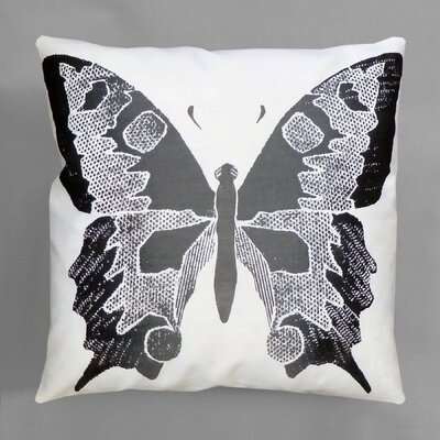 Entomology Butterfly Pillow