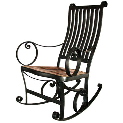 Groovystuff Ironhorse Indoor / Outdoor Rocking Chair