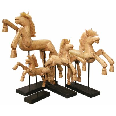 Hinged Horse Figurine
