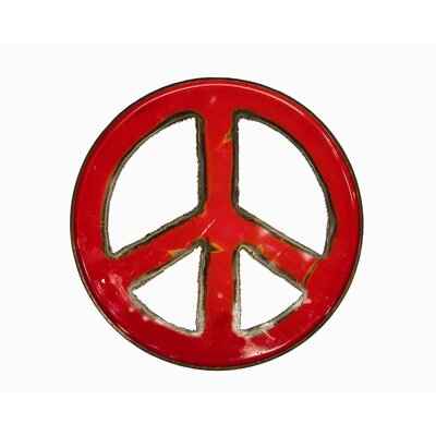 Groovystuff Moonshine Peace Sign Wall Art
