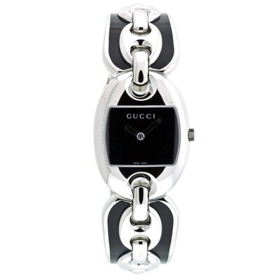 Gucci Women's Marina Watch with Black Dial