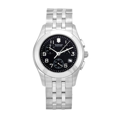 Swiss Army Men's Classic Alliance Watch with Black Dial