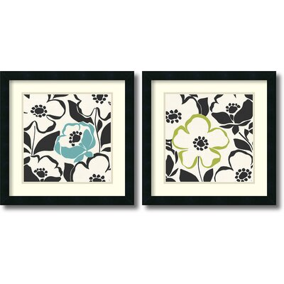 Truly Madly Framed Print by Sarah Adams (Set of 2)