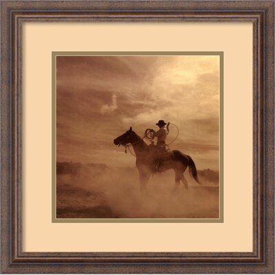 'On the Range II' by Adam Jahiel Framed Photographic Print