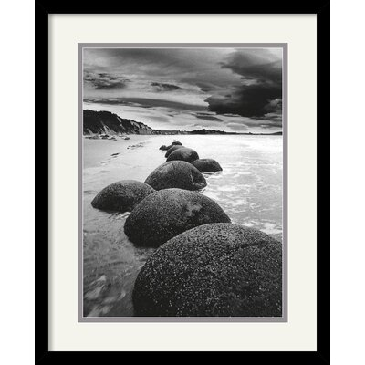 'Sand Harbor II' by Monte Nagler Framed Photographic Print