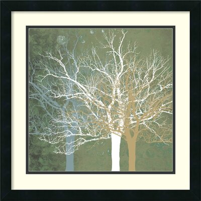 'Quiet Forest' by Erin Clark Framed Painting Print
