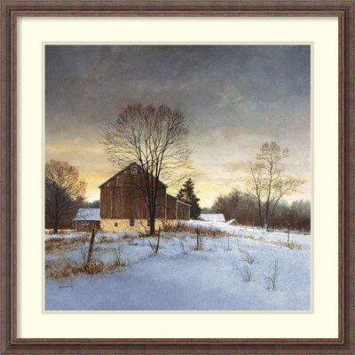 'Breaking Light' by Ray Hendershot Framed Painting Print