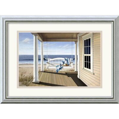 'Soft Winds' by Daniel Pollera Framed Painting Print