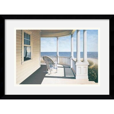 'Breezy Point' by Daniel Pollera Framed Painting Print