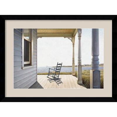 'Snug Harbor' by Daniel Pollera Framed Painting Print