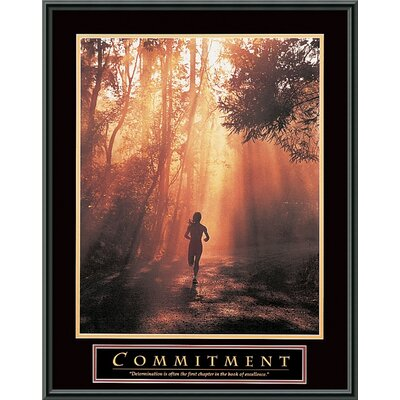 "Amanti Art Commitment Framed Print Art - 29"" x 23"""