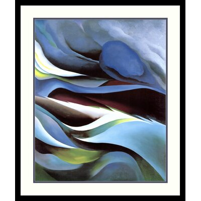 Amanti Art 'From the Lake No. 1' by Georgia O'Keeffe Framed Graphic Art