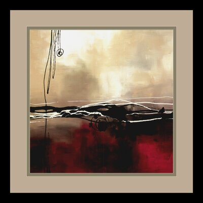 Symphony in Red and Khaki I by Laurie Maitland, Framed Print Art - 15.41