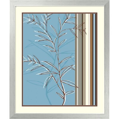 "Amanti Art Linear Reflection II by Jo Parry, Framed Print Art - 25.43"" x 21.5"""