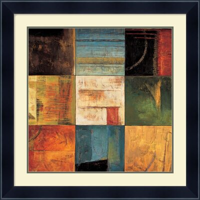 "Amanti Art Diversified II by Kurt Morrison, Framed Print Art - 26.79"" x 26.86"""