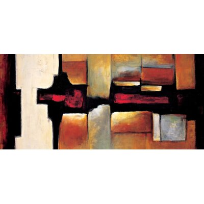 "Amanti Art Equinox by Max Hansen, Canvas Art - 16.56"" x 36.31"""