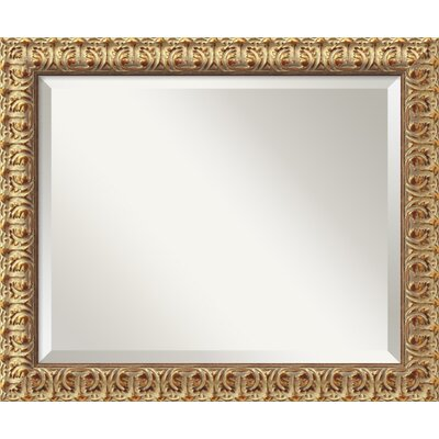 Florentine Medium Mirror in Antique Gold Rococo