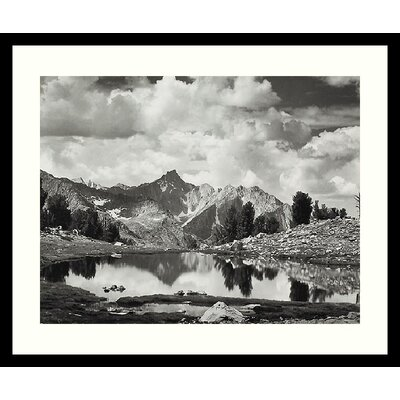 Mount Clarence King, 1925 by Ansel Adams, Framed Print Art - 21.04
