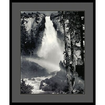 'Nevada Fall, Rainbow, Yosemite National Park' by Ansel Adams Framed Photographic Print