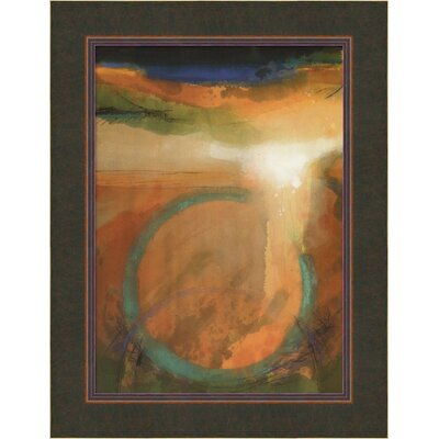 "Amanti Art Dancing on the Rim by John McCormick, Framed Canvas Art - 34.38"" x 26.44"""