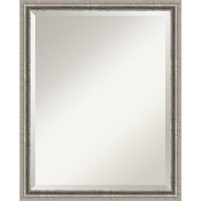 Bel Volto Large Mirror in Burnished Antique Pewter