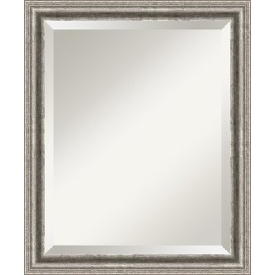 Wood frame antique mirror wayfair for Types of mirror frames