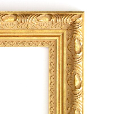 Amanti Art Versailles Large Mirror in Light Gold