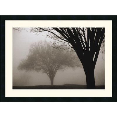 Memories of Winter Framed Art Print by David Lorenz Winston