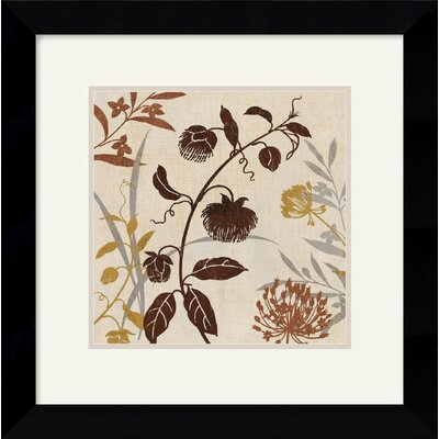 Natural Field I Framed Art Print by Lisa Audit