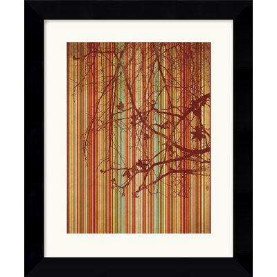 Amanti Art Amber Stripe Framed Art Print by Erin Clark