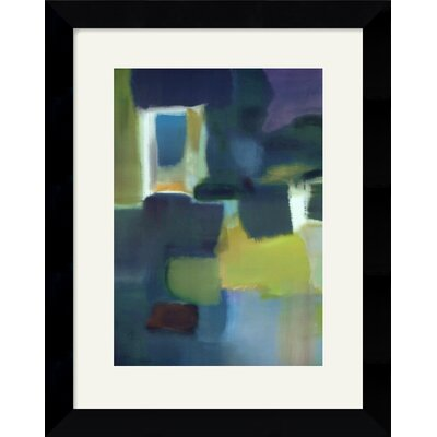 "Amanti Art Entering The Poem by Nancy Ortenstone Framed Fine Art Print - 25.12"" x 19.62"""