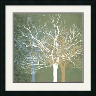 Quiet Forest by Erin Clark Framed Fine Art Print - 22