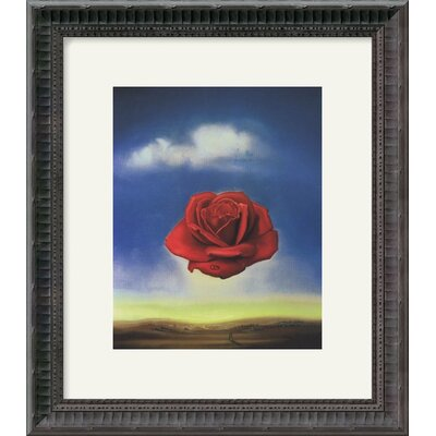 "Amanti Art The Rose by Salvador Dali Framed Fine Art Print - 16.18"" x 14.18"""