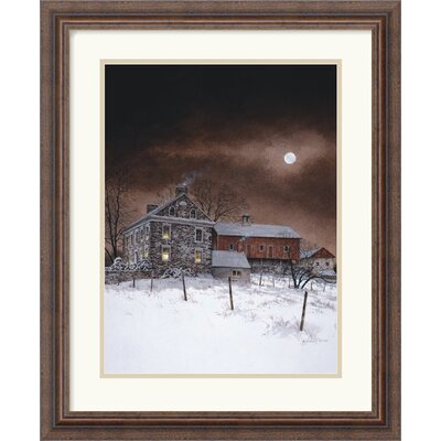 "Amanti Art Oley White by Ray Hendershot Framed Fine Art Print - 22.3"" x 18.3"""