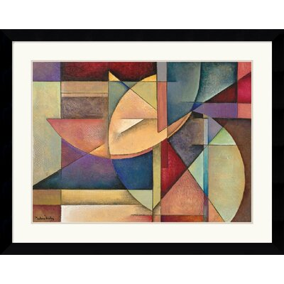 "Amanti Art Sections of My Destiny by Marlene Healey Framed Fine Art Print - 30.62"" x 38.62"""