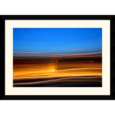 "Amanti Art Grand Basin 360 by Andy Magee Framed Fine Art Print - 28.37"" x 38.37"""
