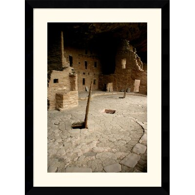 "Amanti Art Spruce Tree House by Andy Magee Framed Fine Art Print - 38.62"" x 28.62"""