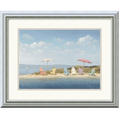 "Amanti Art Summer Colors by Daniel Pollera Framed Fine Art Print - 15.99"" x 19.99"""