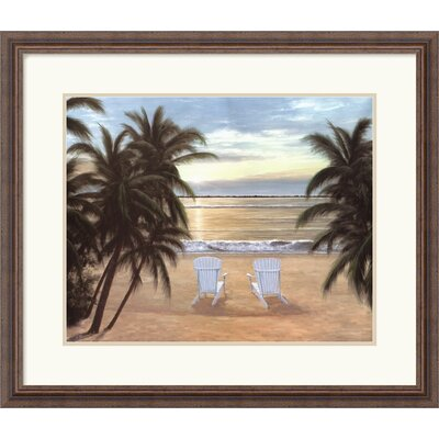 Life is Good by Diane Romanello Framed Fine Art Print - 24.30