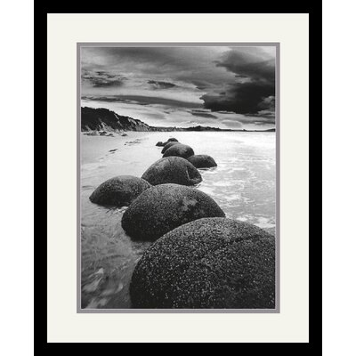 Sand Harbor II Framed Art Print by Monte Nagler