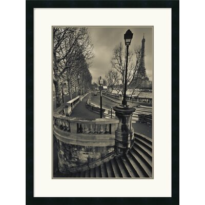 Amanti Art Paris Framed Art Print by Sabri Irmak