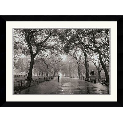 Poet's Walk Framed Art Print by Henri Silberman