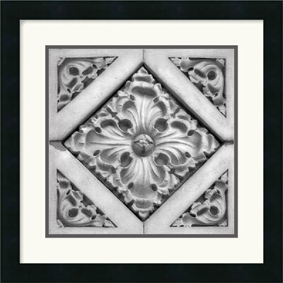 Architectural Detail No. 44 by Ellen Fisch Framed Fine Art Print - 18