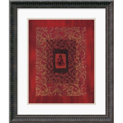 Buddha II by Ricki Mountain Framed Art Print - 20.18