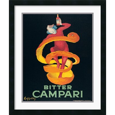 Amanti Art Bitter Campari Framed Print by Leonetto Cappiello